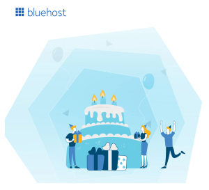 Bluehost Birthday Offer Coupon
