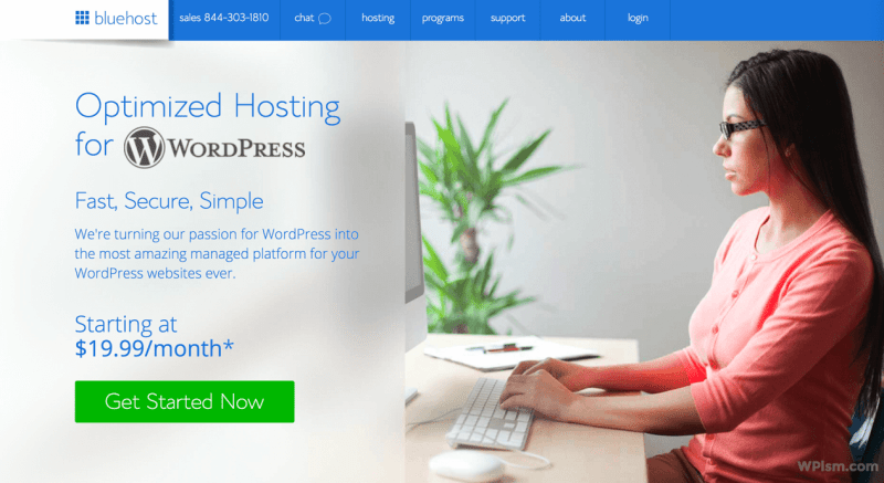 Bluehost Signup Managed WordPress Hosting