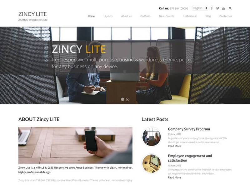 Brovy WordPress theme 8Degree Themes