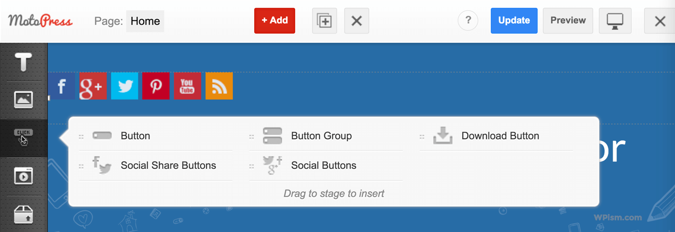 Buttons Modules Page Builder MotoPress Plugin