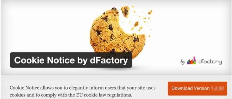 Cookie Notice WordPress Plugin