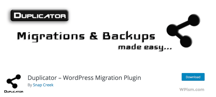 Duplicator WordPress Plugin Download