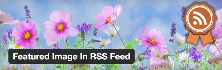 Featured Image in RSS feed plugin