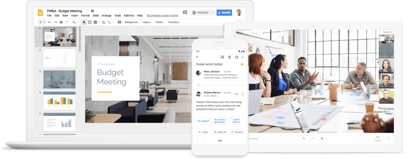 G Suite Various Apps Coupon Demo