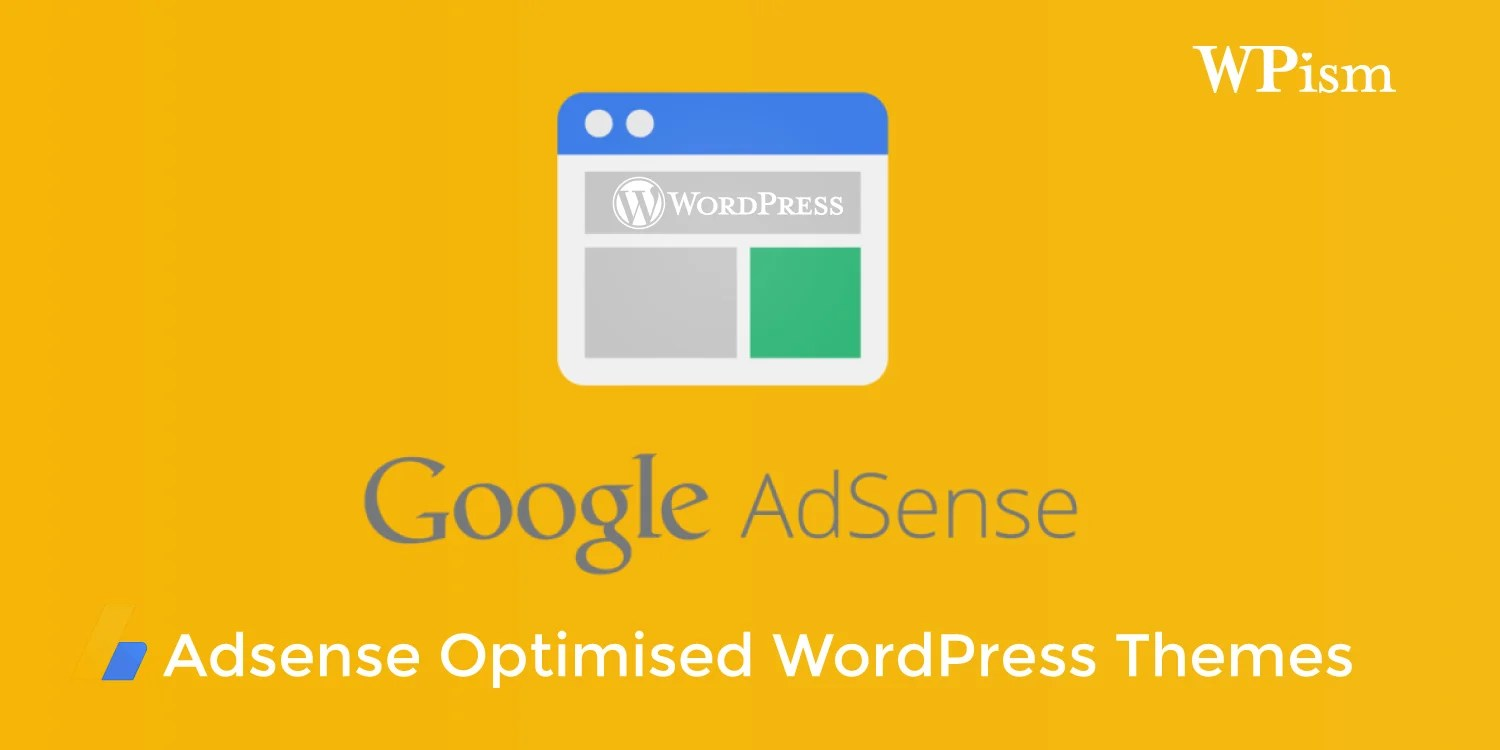 Google Adsense optimised WordPress Themes