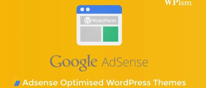 Google Adsense optimised WordPress Themes
