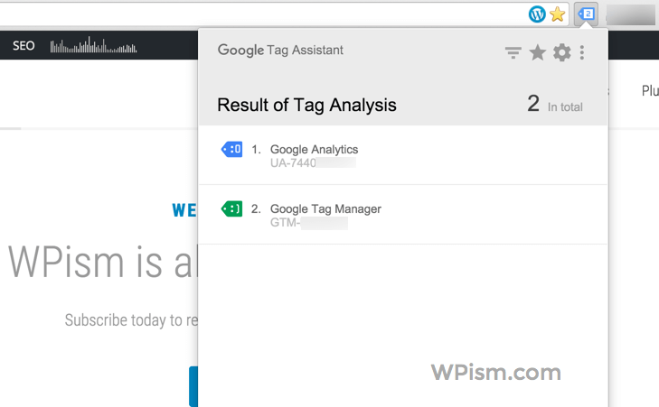 Google Tag Manager Tag Analysis Website