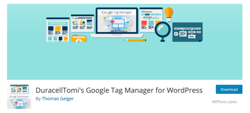 Google Tag Manager for WordPress Plugin Download