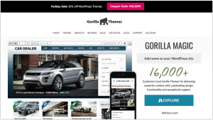 Gorilla Themes New Year Sale 2018