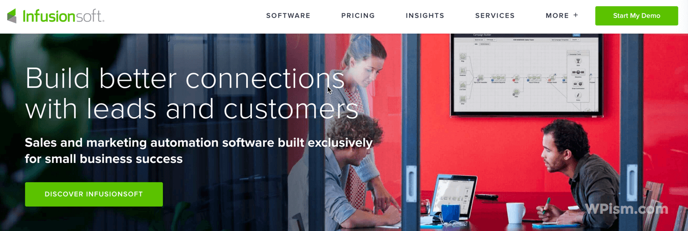 Infusionsoft - CRM and Marketing Automation