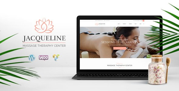 Jacqueline Spa & Massage Salon WordPress Theme