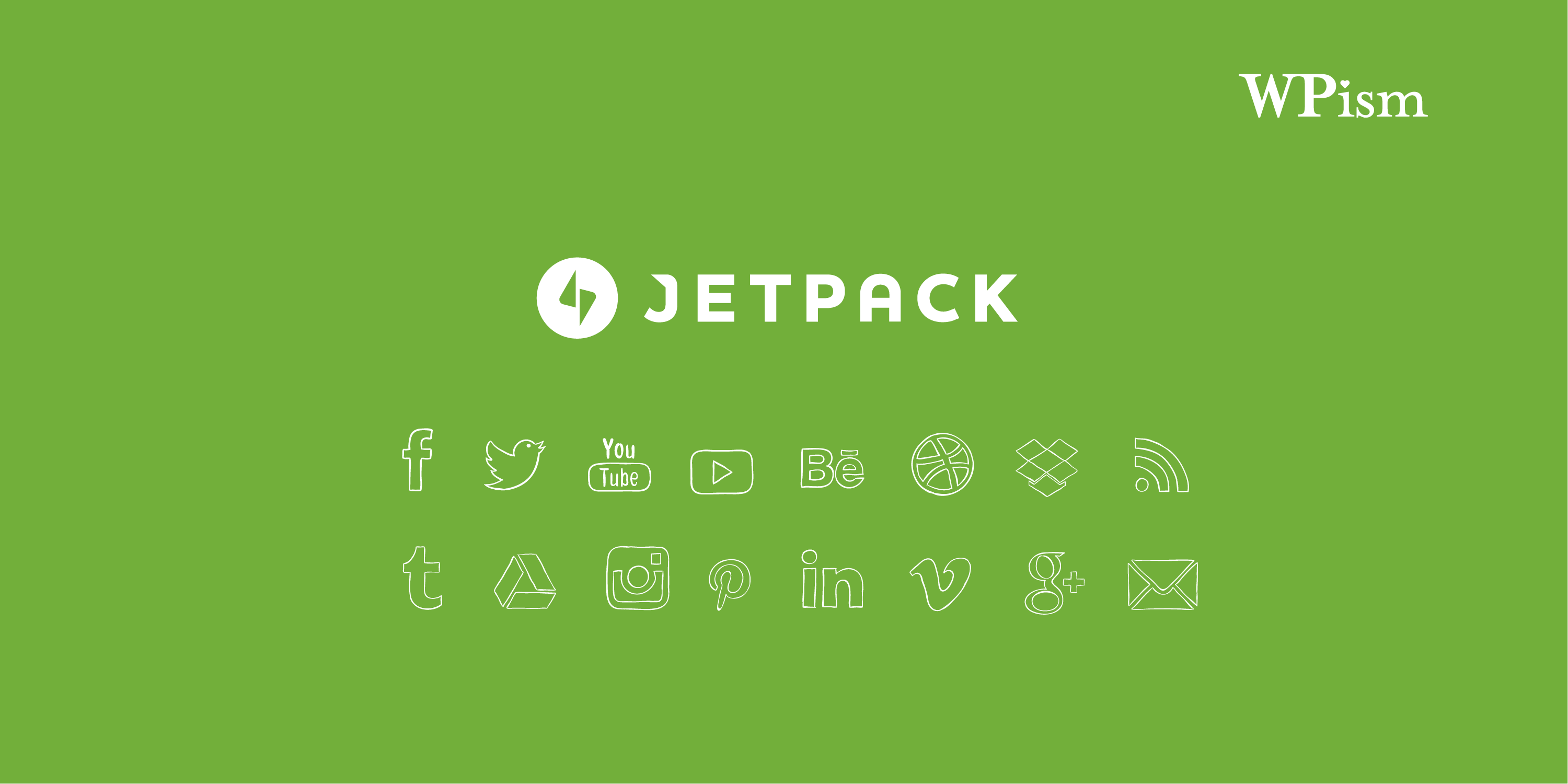 Jetpack Social Media Icons Widget WordPress