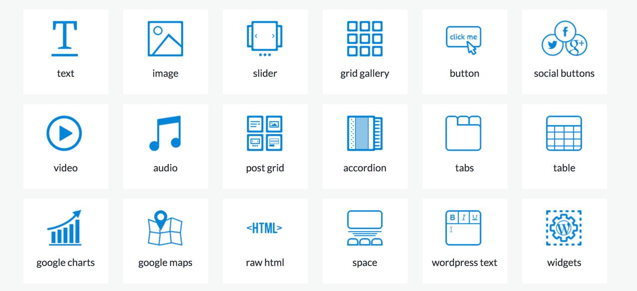MotoPress Page Builder Content Elements