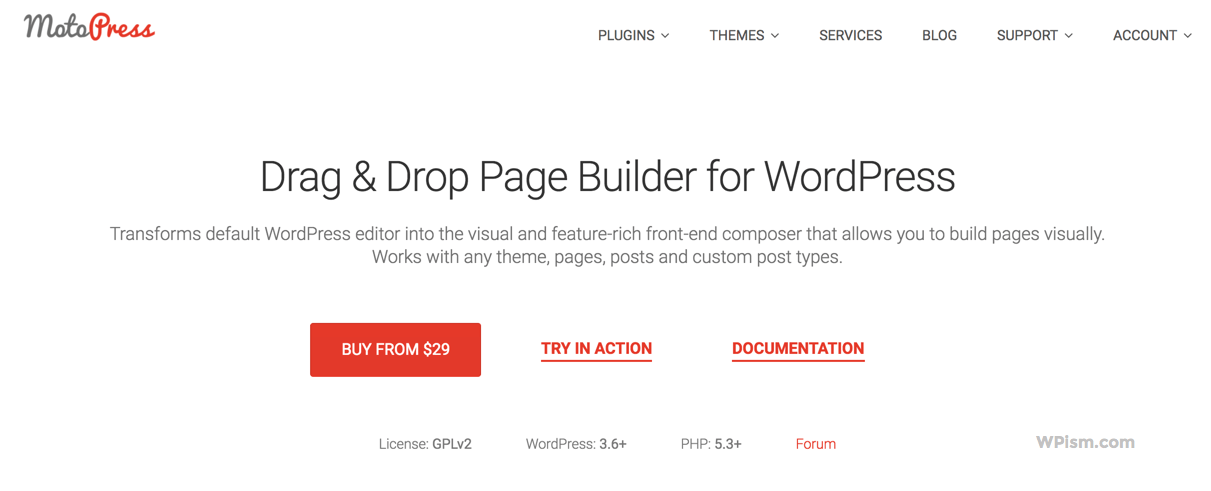 MotoPress Page Builder for WordPress Premium Plugin
