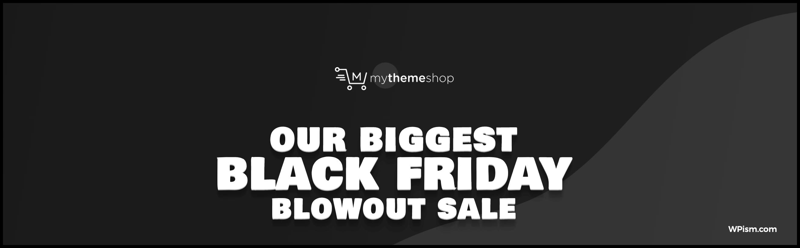 MyThemeShop Black Friday Deal 2018