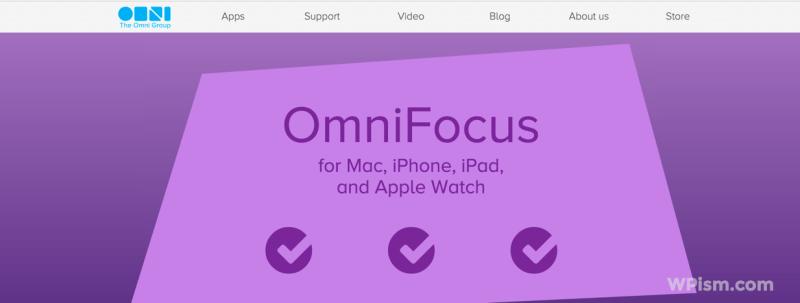 OmniFocus - Project management tool