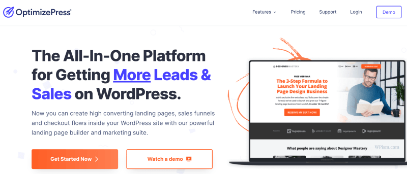 OptimizePress WordPress Landing Page Builder Plugin Download