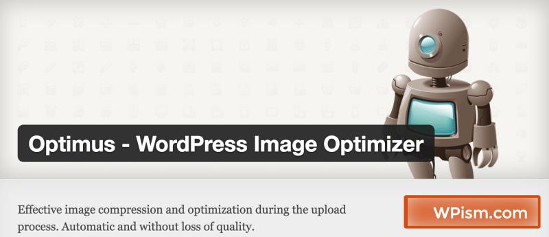 Optimus Image Optimization WordPress plugin