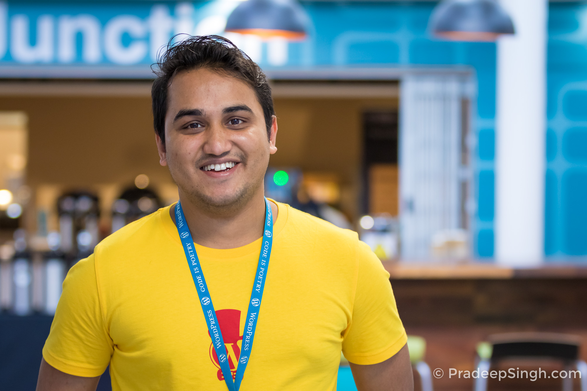 Pradeep Singh WPism WordCamp London Pradeep Singh Photo-5100