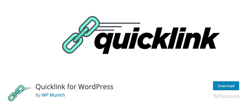 Quicklink for WordPress plugin download