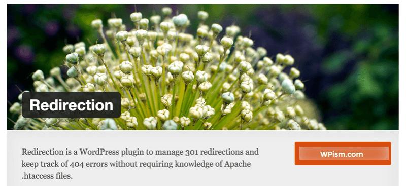 Redirection WordPress Plugin for 301 Redirects