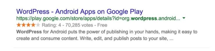 Rich Snippets WordPress App