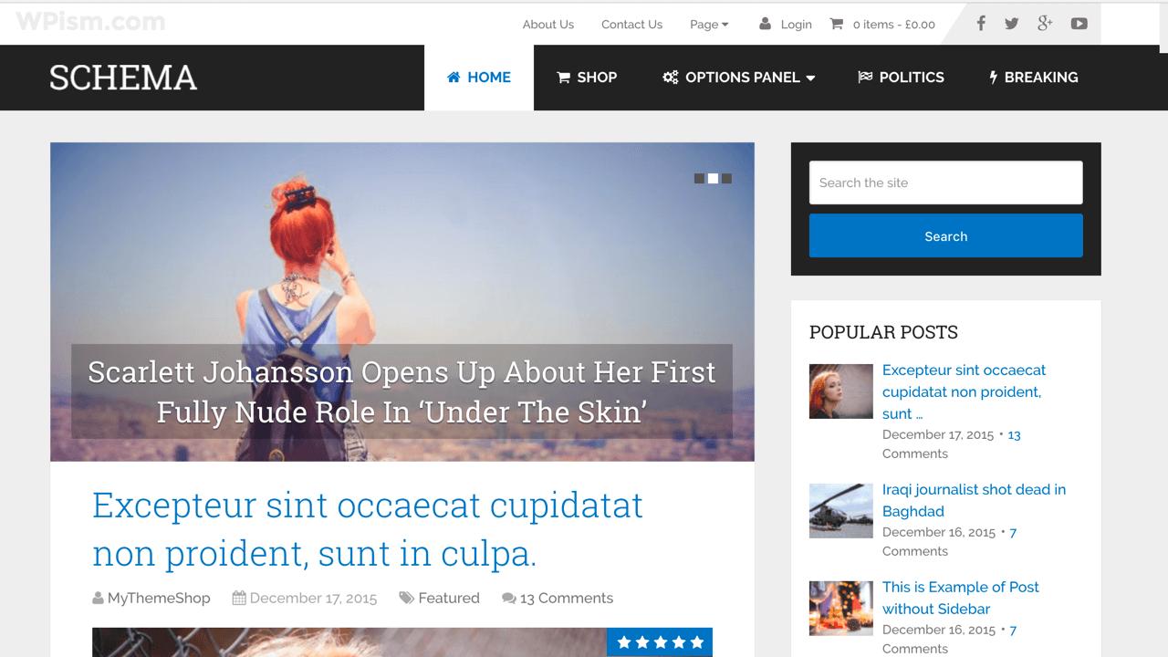 Schema WordPress Theme for Adsense Theme MyThemeShop