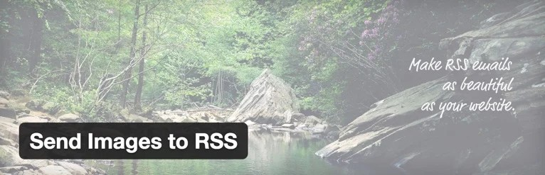 Send Images to RSS Plugin