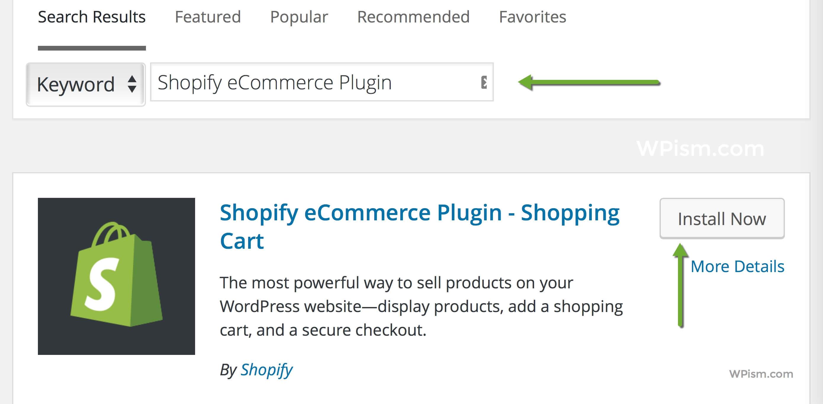 Shopify WordPress plugin Repository