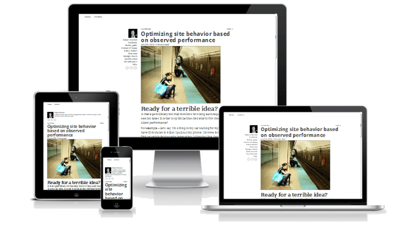 Simply Readable WordPress Theme Medium