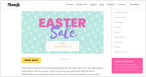 Themify Easter Sale WordPress Deal