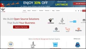 WisdmLabs WordPress products sale Christmas New Year 2018