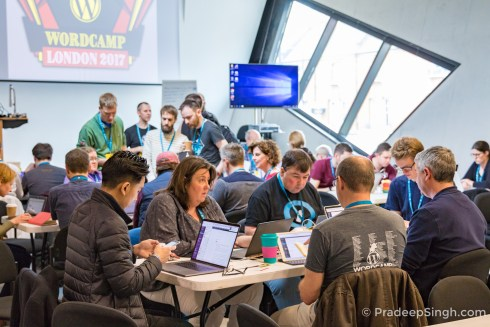 WordCamp London 2017 Contributor Day Pradeep Singh Photo-2400