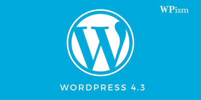 WordPress 4.3 Download