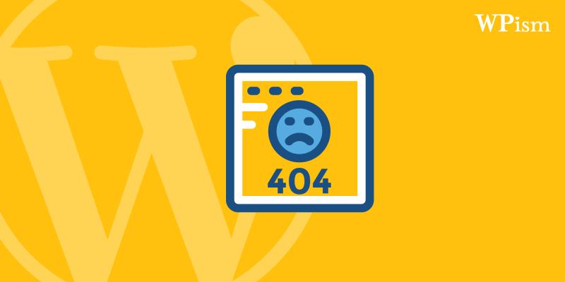 WordPress 404 Page