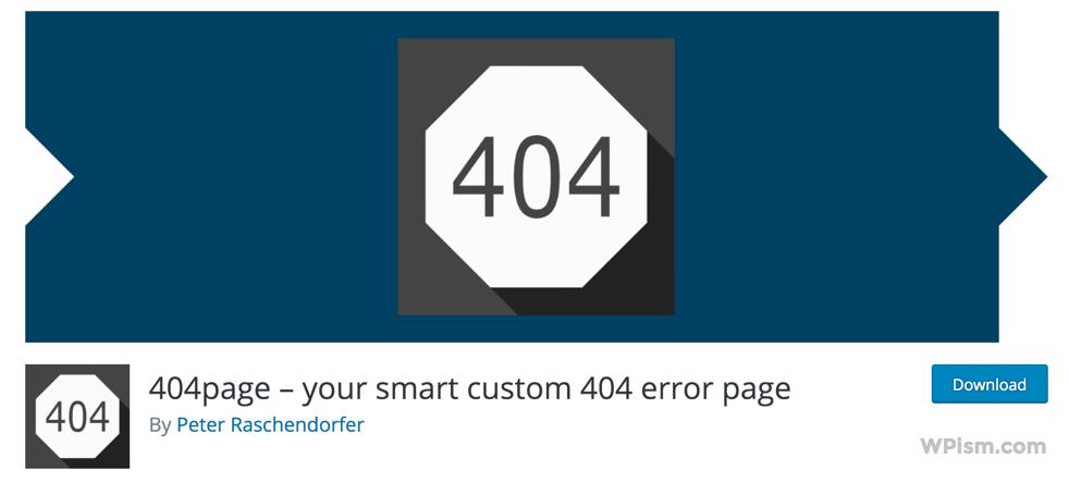 WordPress 404 Smart Custom 404 error page