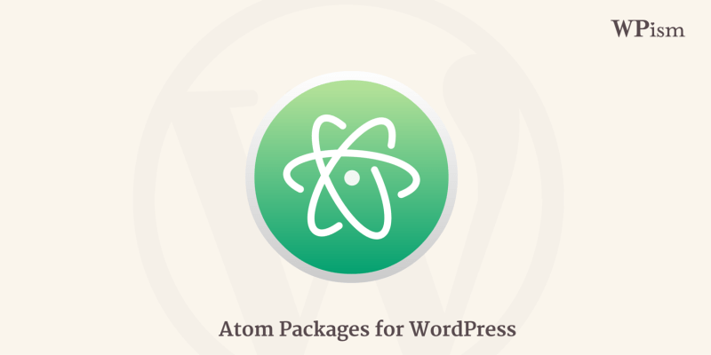 Atom Packages for WordPress developers