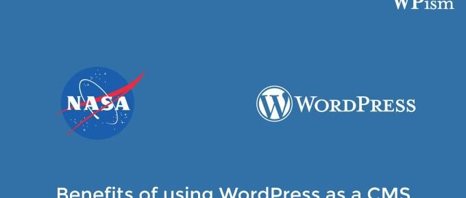 WordPress CMS for NASA Websites