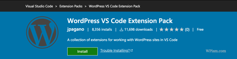 WordPress VS Code Extension Pack