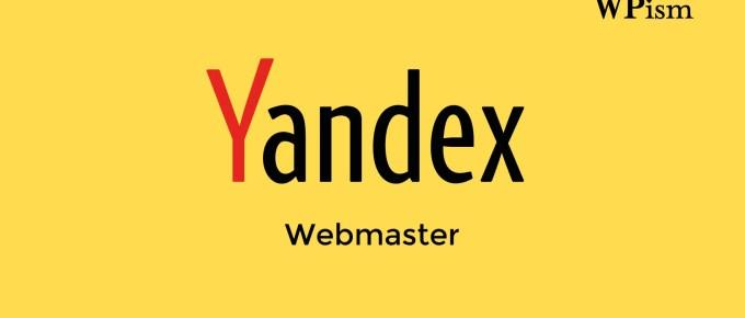 Yandex Webmaster tool Verify Website