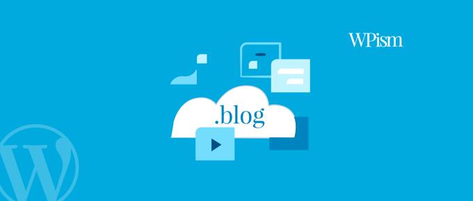 blog domain .blog WordPress