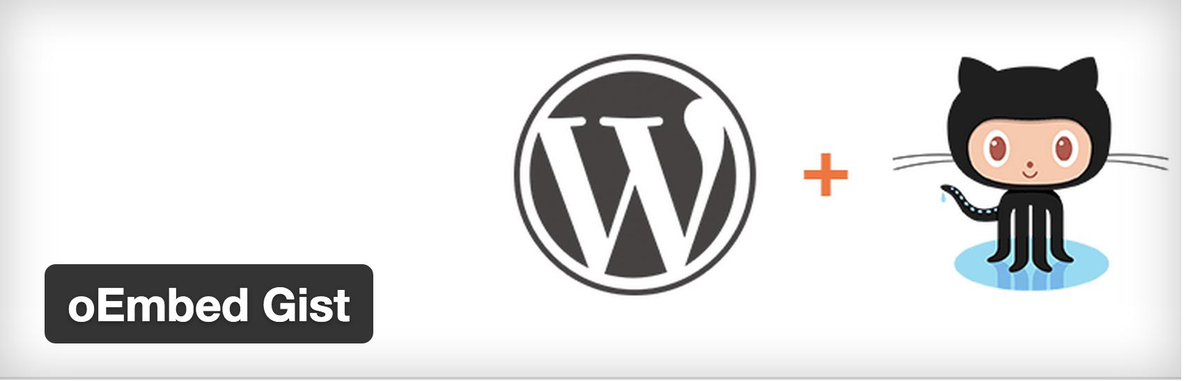 oEmbed Gists WordPress plugin