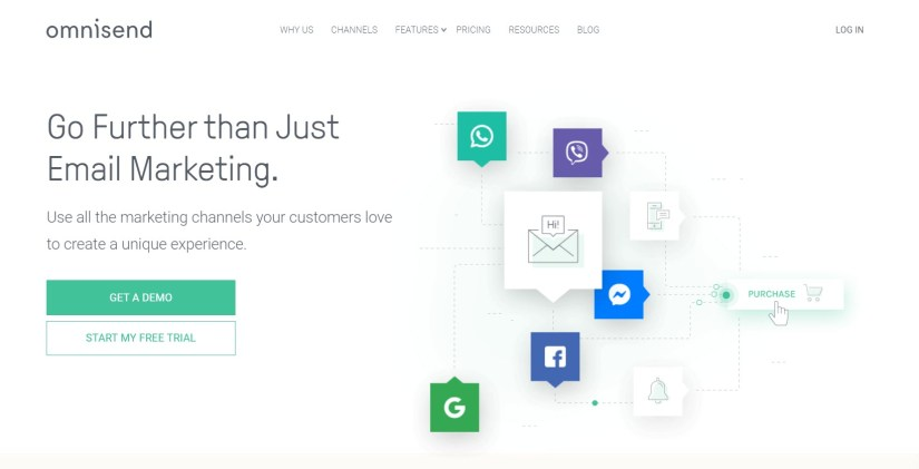 Mailchimp alternative-Omnisend