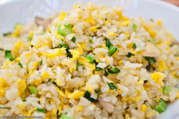 fried rice - breakfast at park hyatt beijing