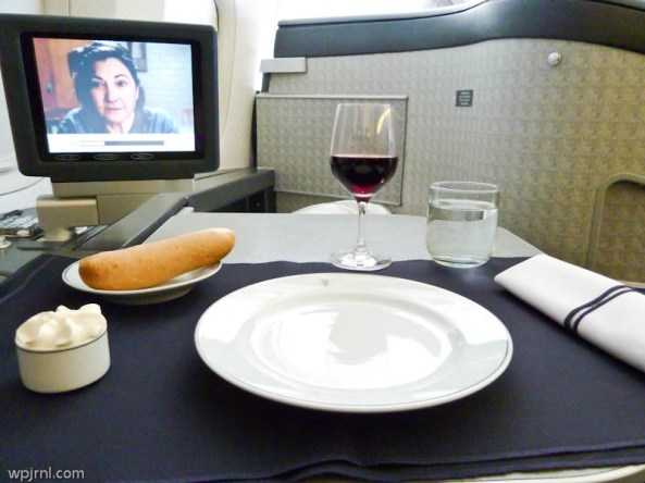 American Airlines First Class AA86 ORD-LHR