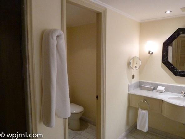 Grand Hyatt Santiago Executive Suite Terrace Bathroom