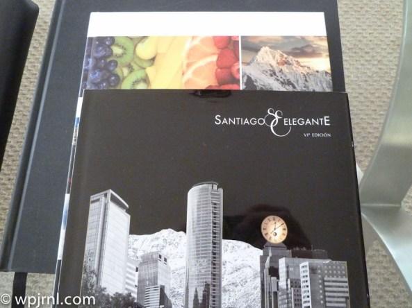 Grand Hyatt Santiago Executive Suite Terrace Magazines