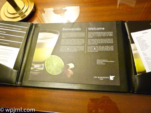 JW Marriott Lima Standard Room - book