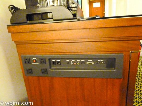 JW Marriott Lima Standard Room - AV outlets