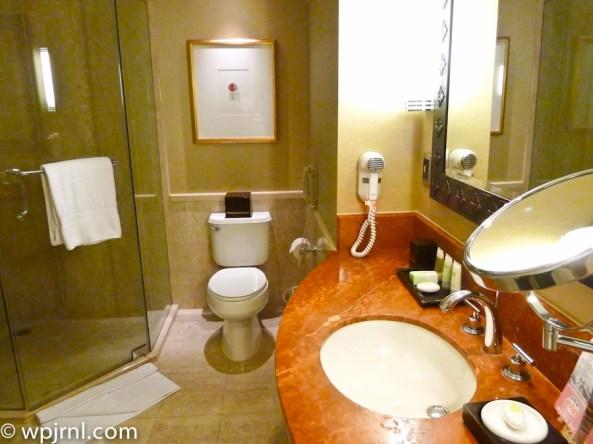 JW Marriott Lima Standard Room - Bathroom